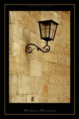 Historische Lampe