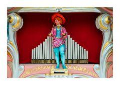 Historische Orgelfigur