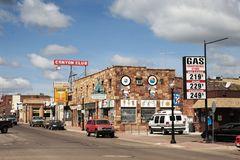 historische Stadtkulisse an der Route 66 in Williams