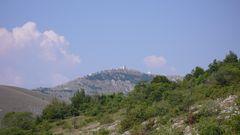 Historische Städte unbewohnt bei Castel Monte