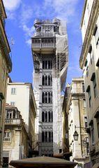 historischer Aufzug
