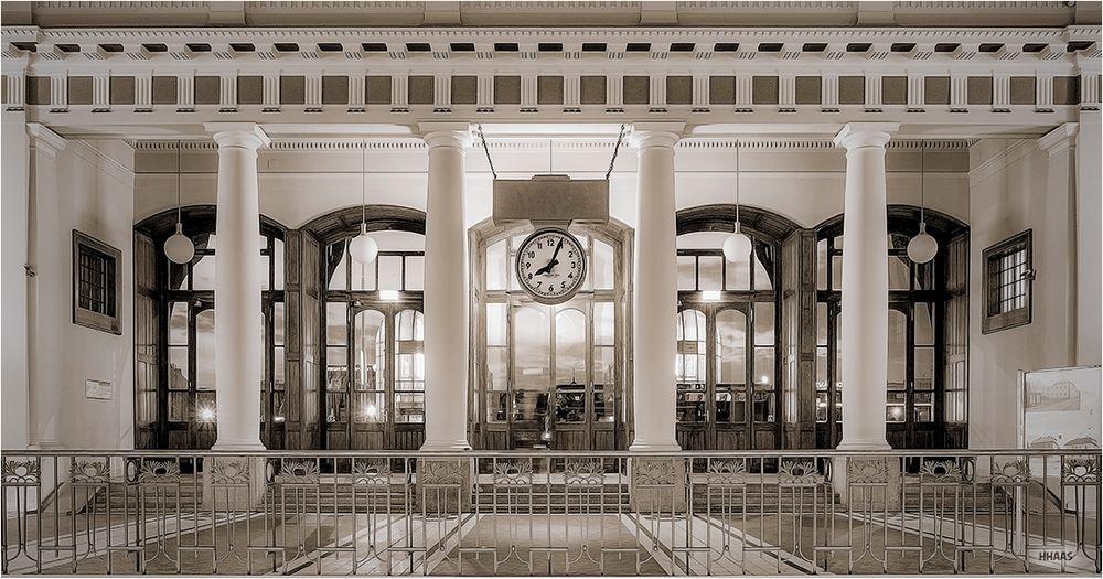 Historischer Bahnhof Prag