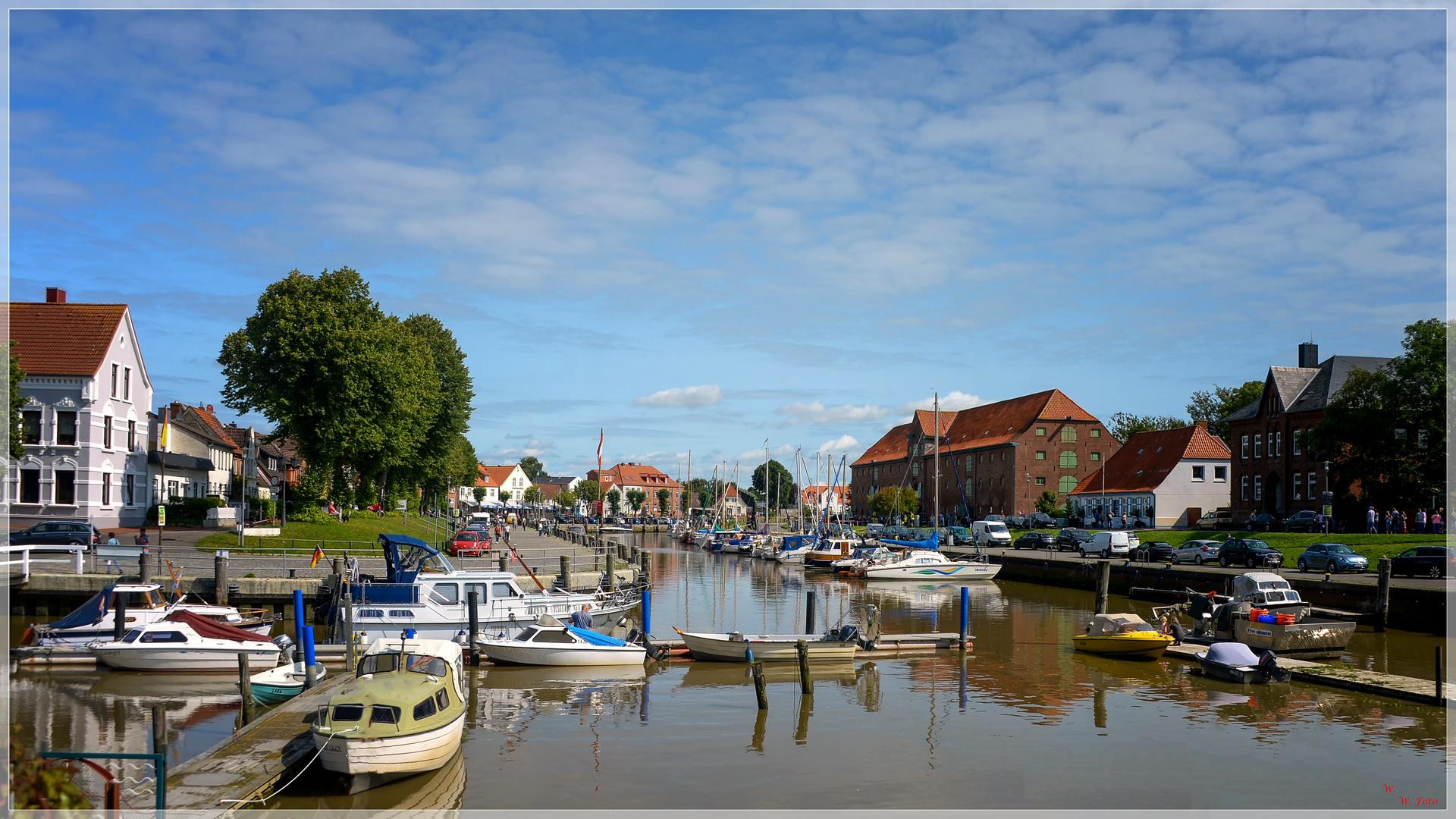 Historischer Hafen Tönning