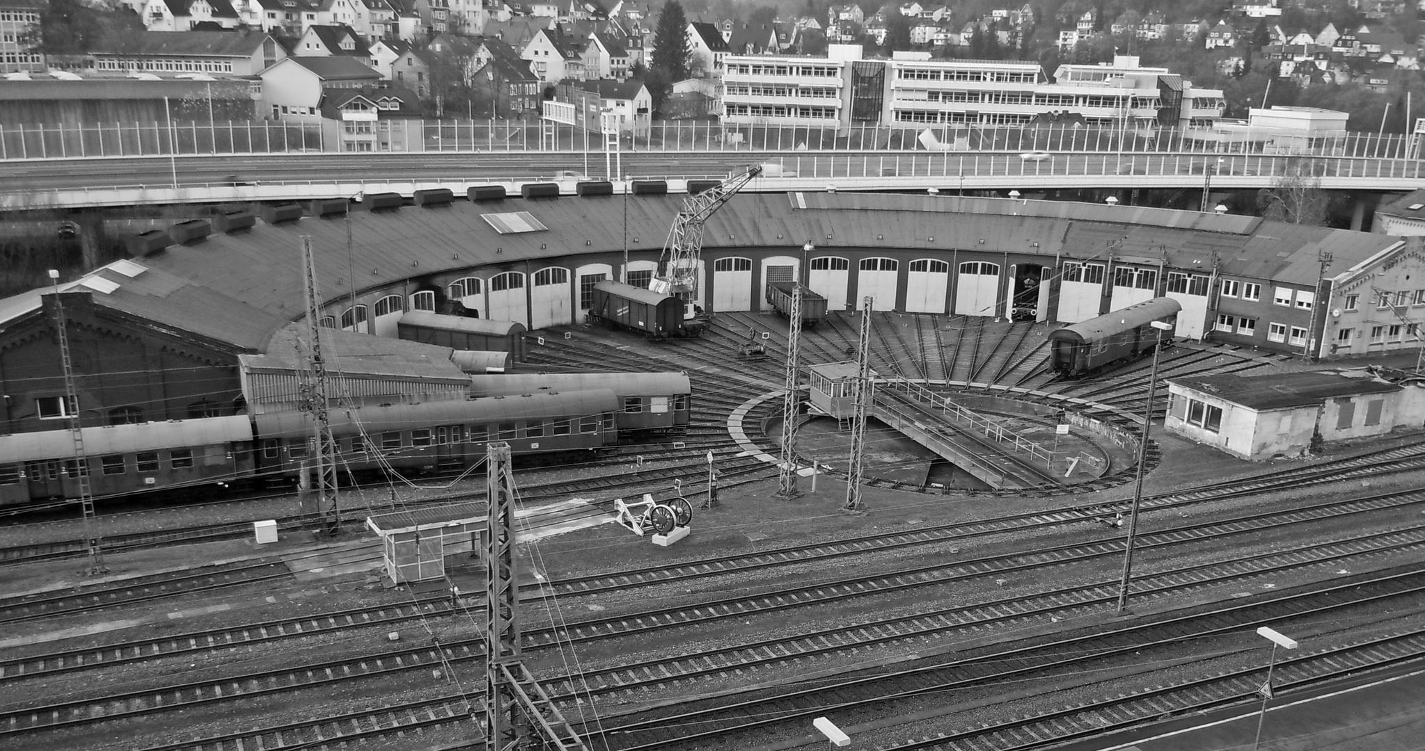 Historischer lokschuppen siegen foto bild architektur stadtlandschaft historisches bilder - Architektur siegen ...
