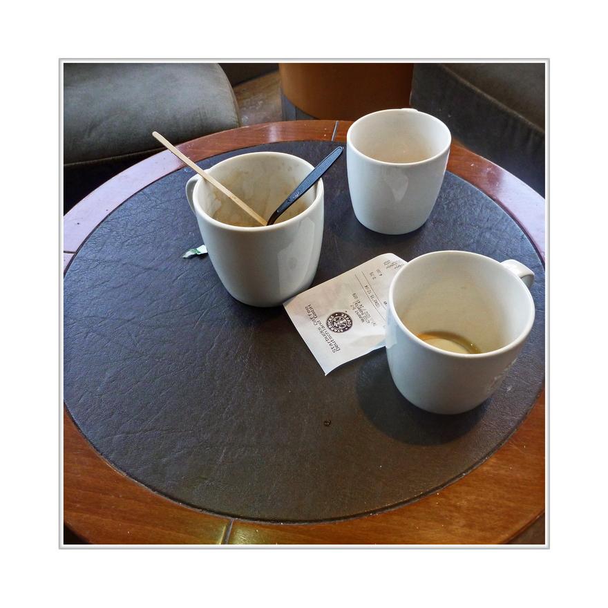 historischer Moment....es war mein erster Starbucks Koffie