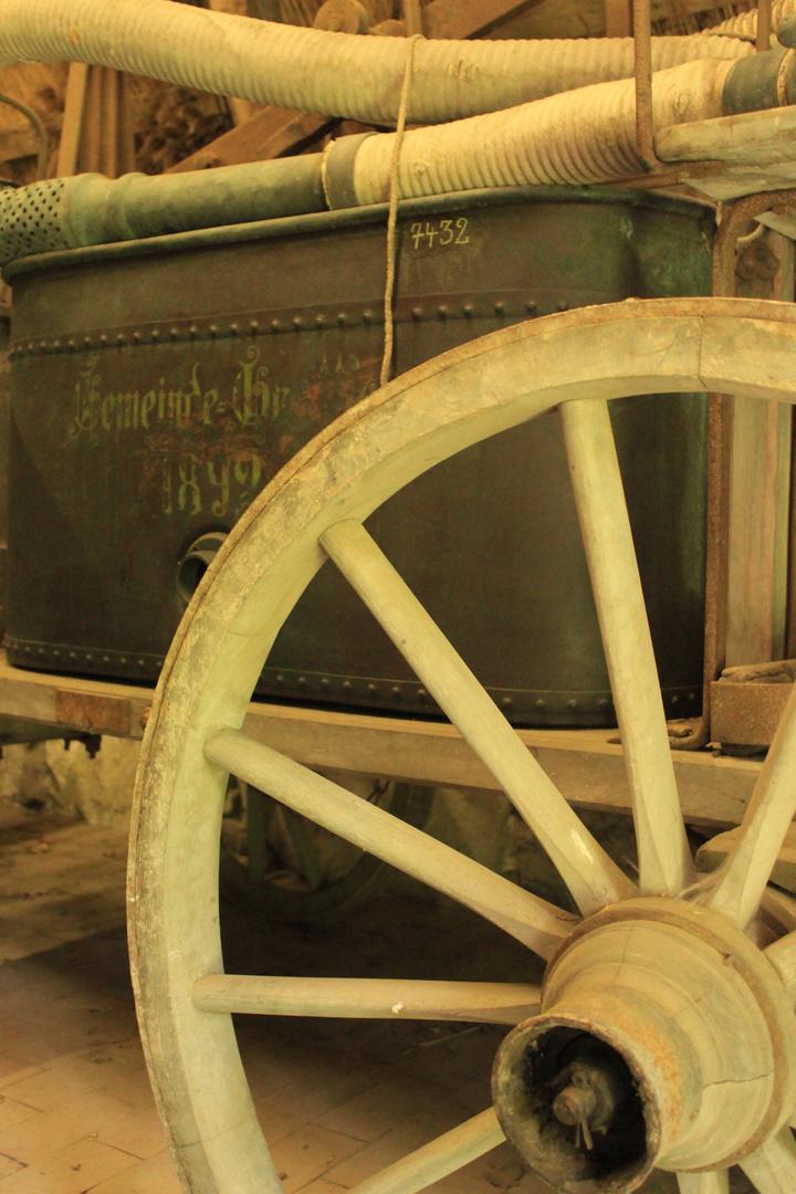 Historischer Spritzenwagen 1892