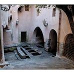 historischer Waschplatz in Cefalu