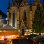 Historischer Weihnachtsmarkt vor der Marienkirche