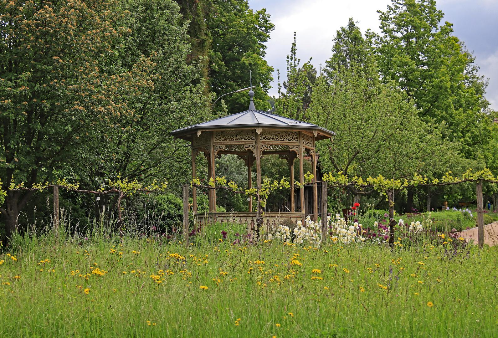 Historisches Gartenhaus
