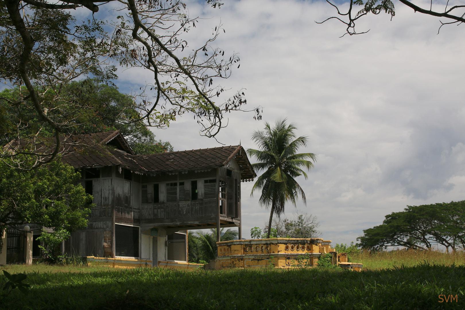 Historisches ländliches Gebäude in Malaysia
