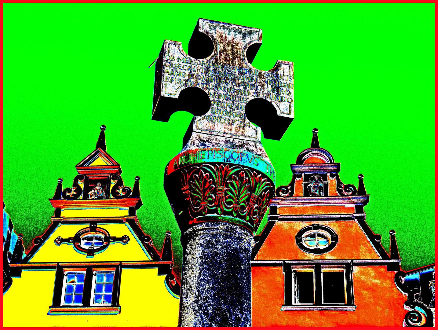 Historisches Marktkreuz
