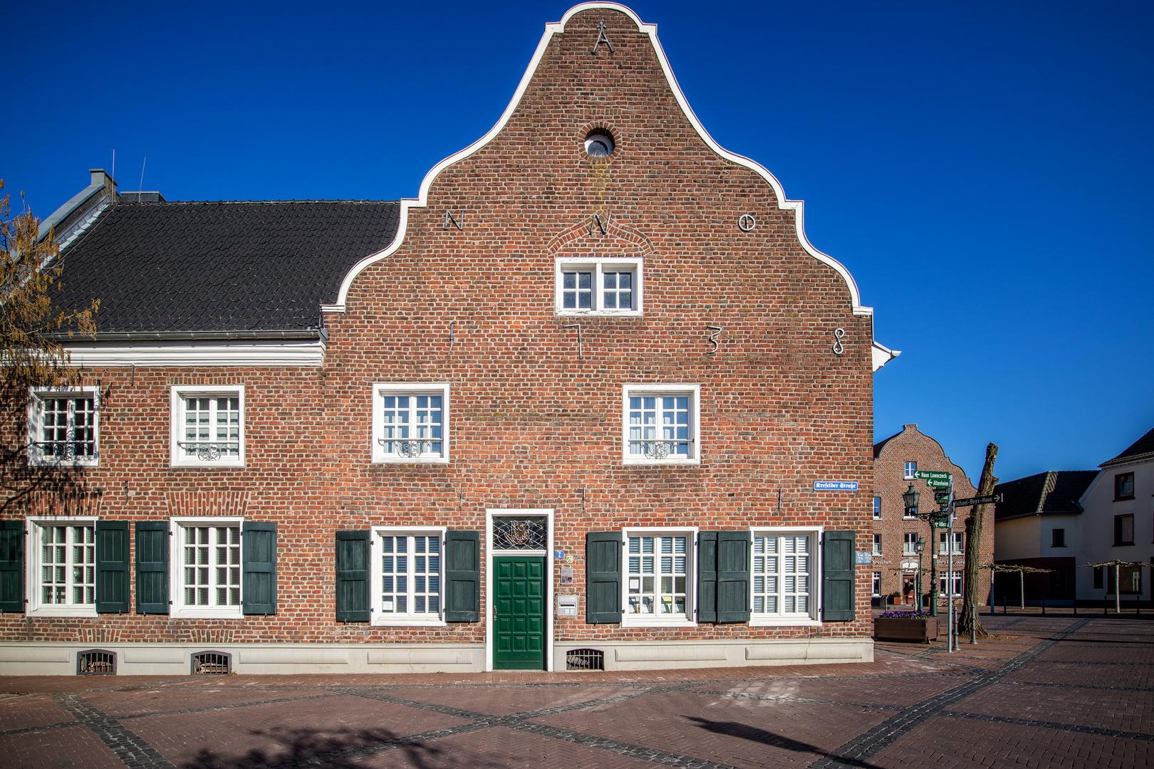 historisches Rathaus der Gemeinde Kerken-Nieukerk