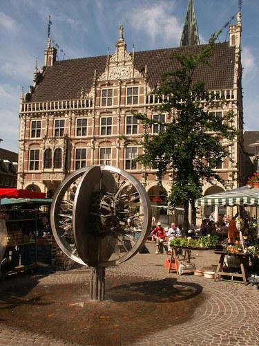 Historisches Rathaus in Bocholt von Bruno Wansing