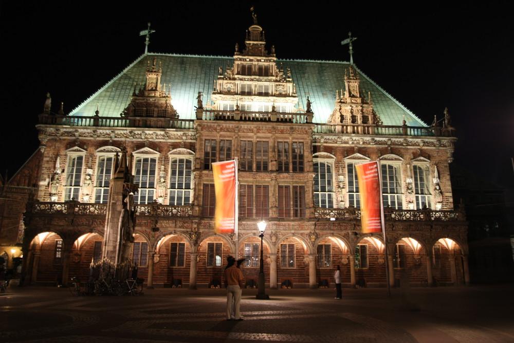 Historisches Rathaus in Bremen