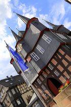 historisches Rathaus in Frankenberg