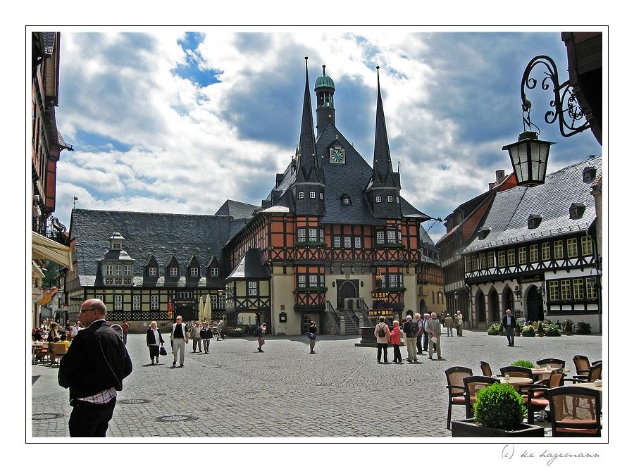 historisches Rathaus Wernigerode