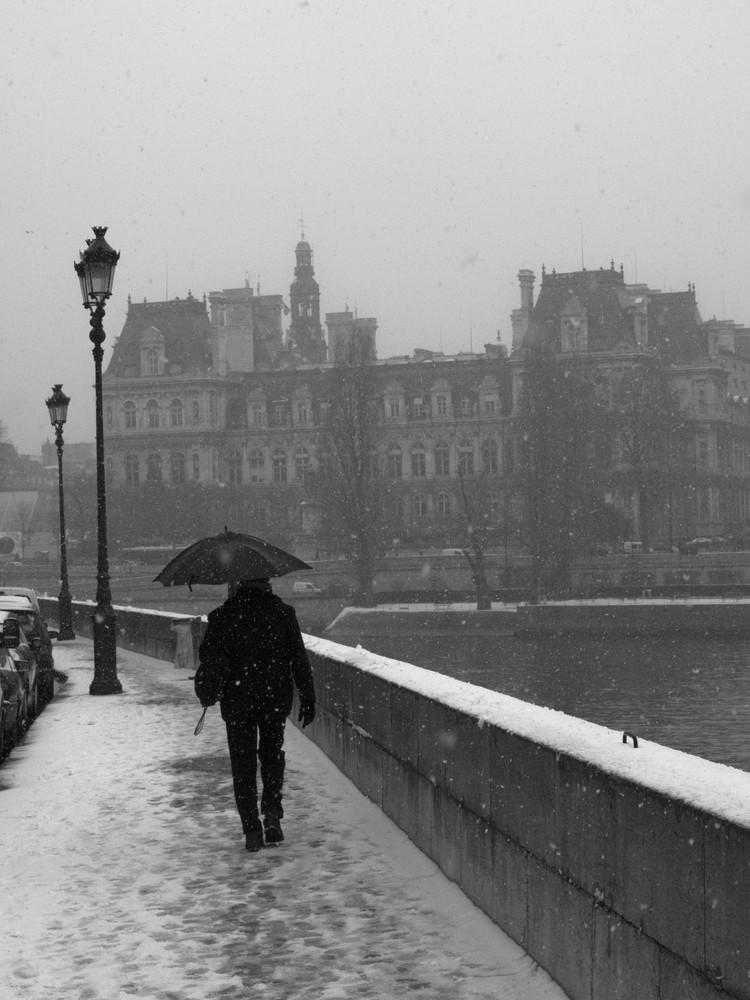 Hiver à Paris