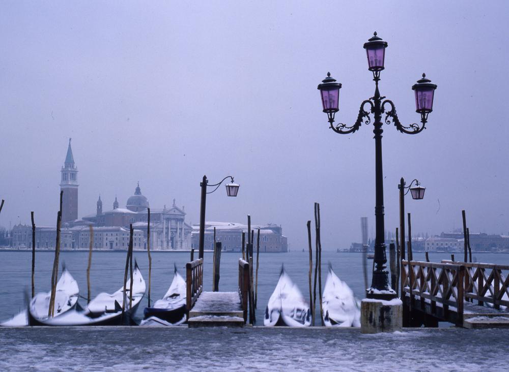 hiver a venise