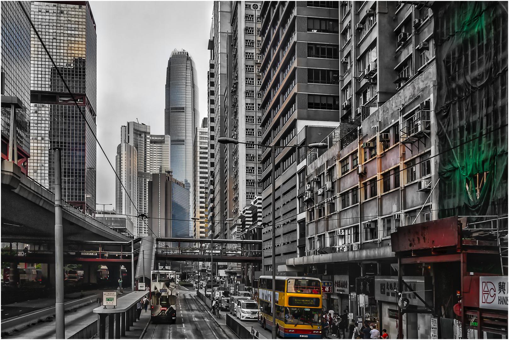 [HK-Straßenschluchten]