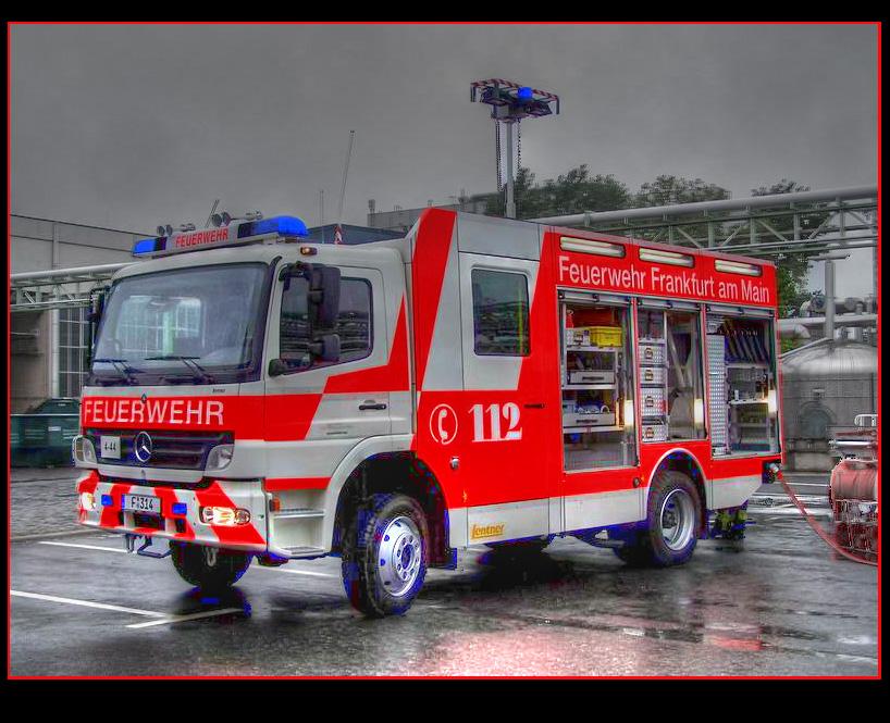 HLF 20 / 44 Berufsfeuerwehr Frankfurt am Main
