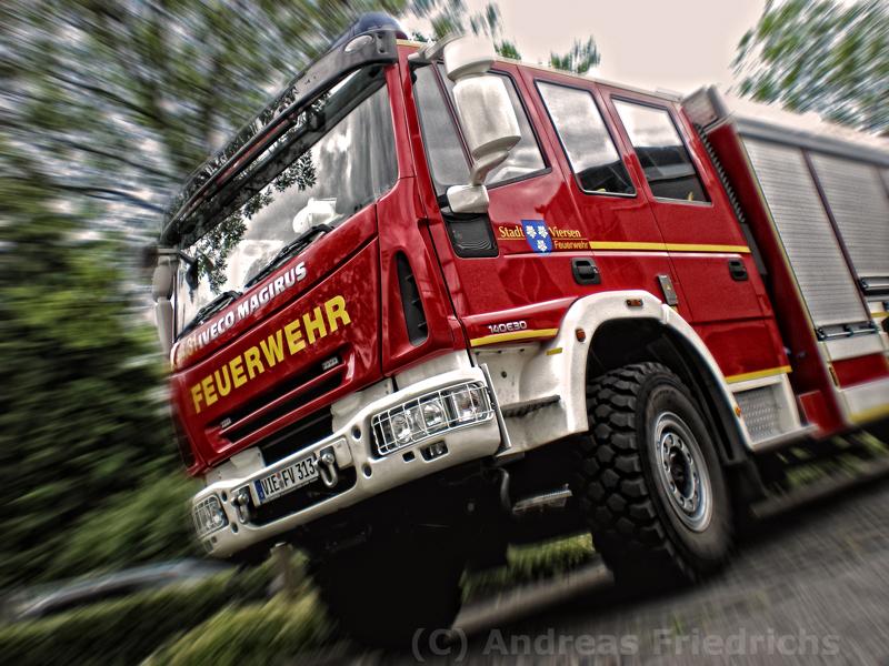 HLF der Feuerwehr Stadt Viersen