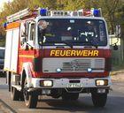 HLF der FF Neu-Isenburg auf der Anfahrt zur Übung heute in Offenbach