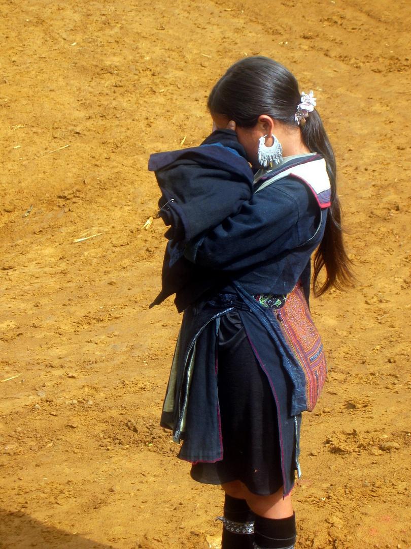Hmongmädchen