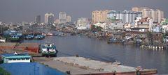 Ho Chi Min Stadt / Vietnam
