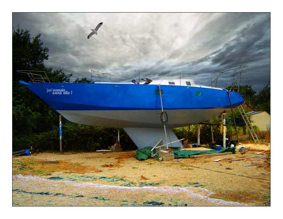 Ho mon bateau...