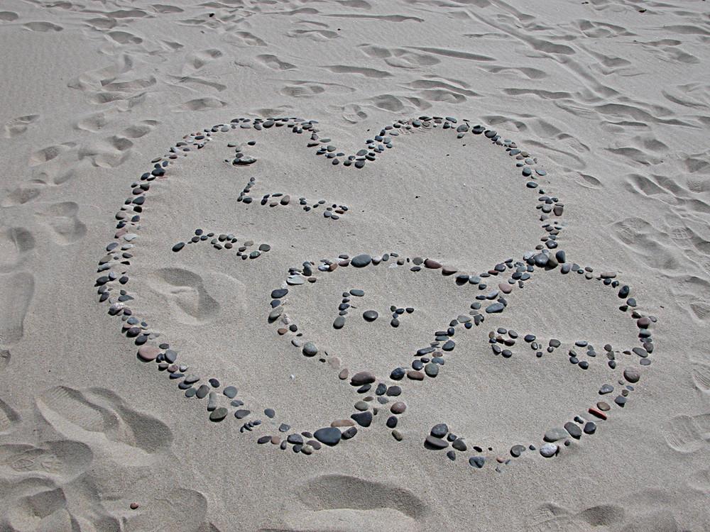 Ho scritto t'amo ........