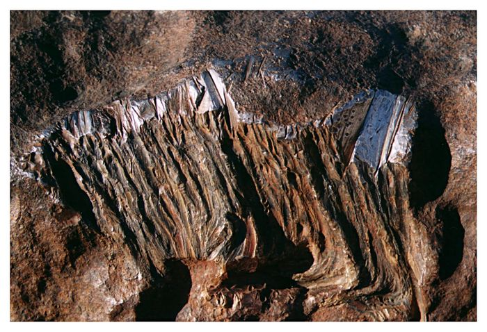 Hobameteorit in Nahaufnahme