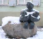 Hoch Dirk aus Russland ist mit Kälte auf dem Wege zu uns