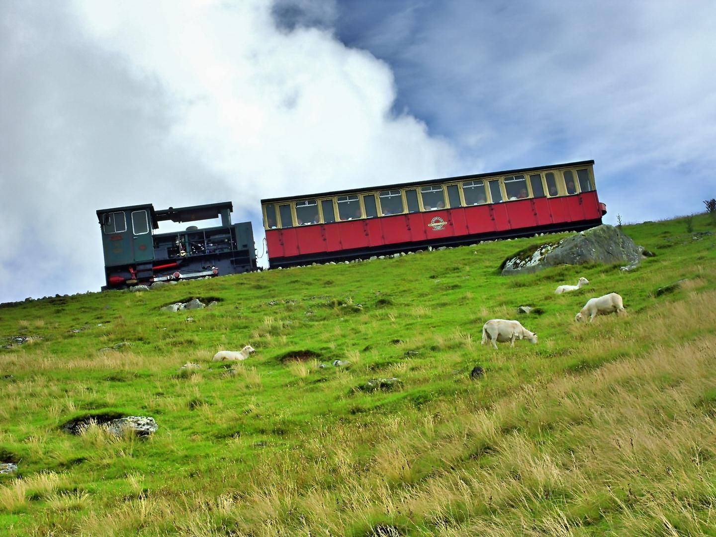 Hoch hinaus - Mount Snowdon