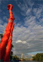 hoch hinaus wollen alle...Impression vom Iron-Man Frankfurt