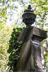 Hoch oben das Blumen-Bukett