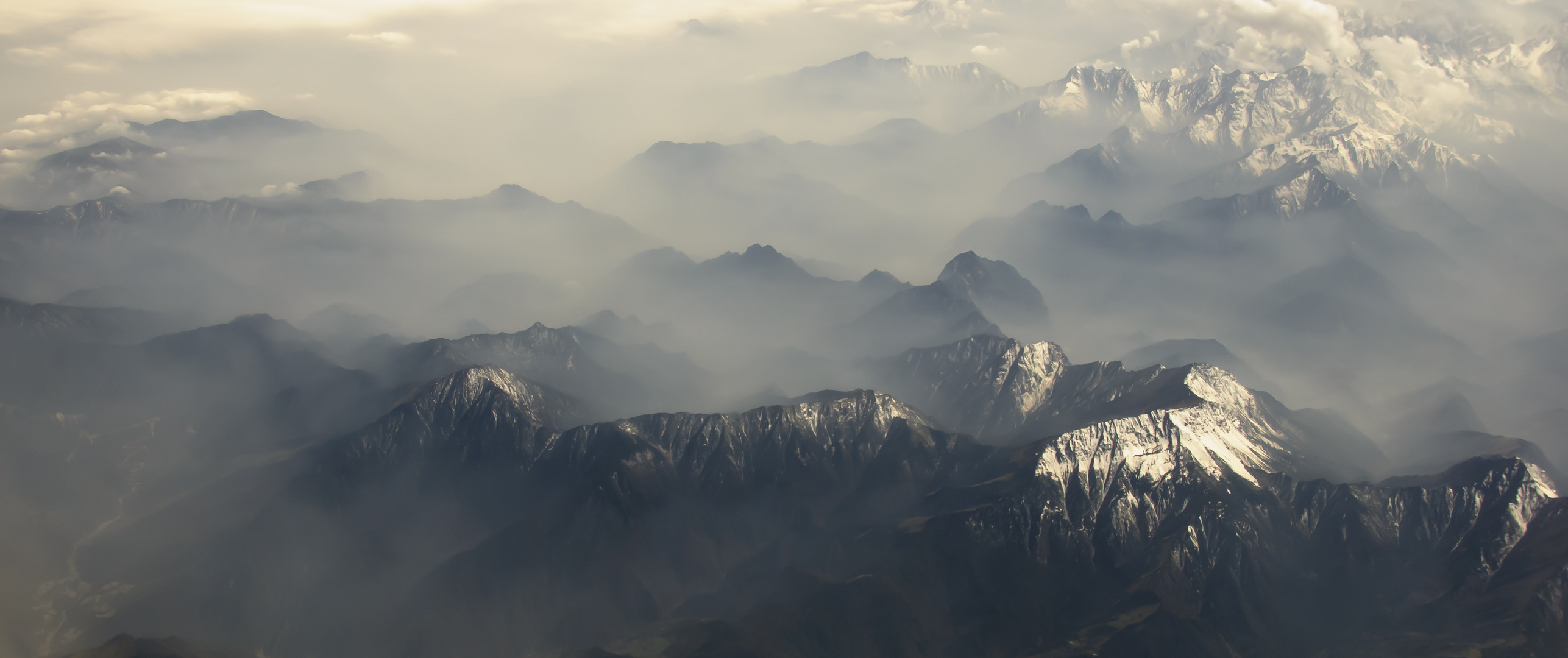 Hoch über dem Himalaya