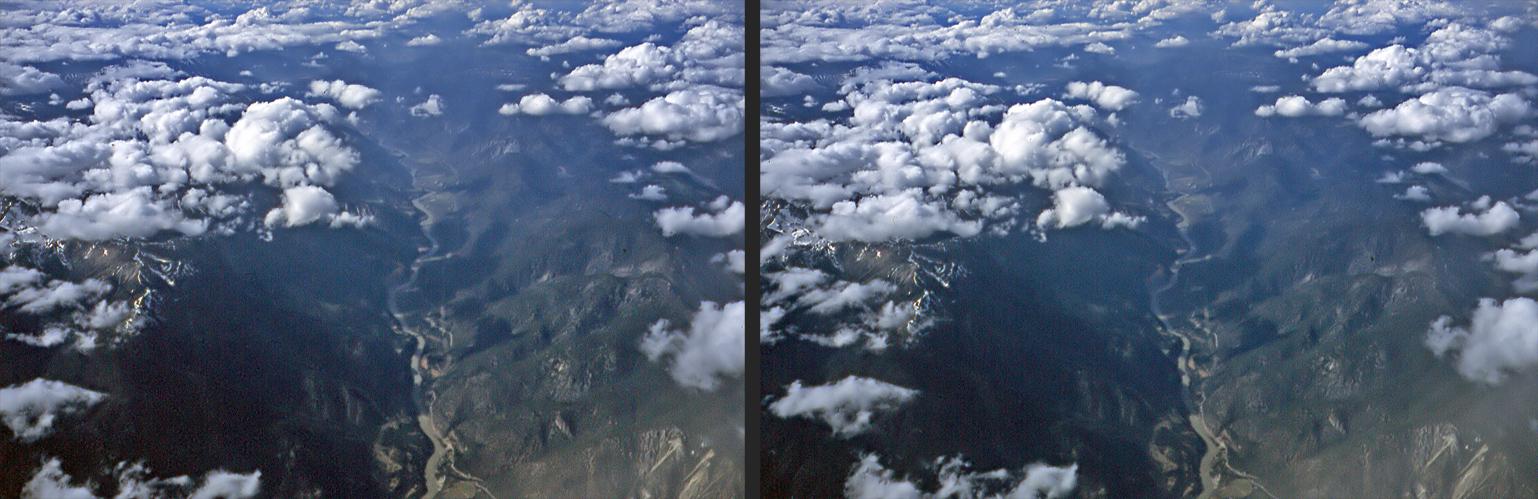 Hoch über den BC-Rockies