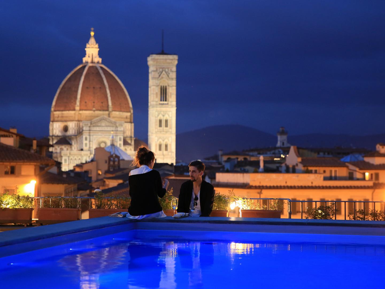 Hoch über den Dächern von.... Florenz