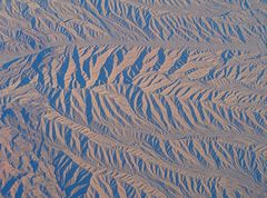 Hoch über der Wüste Nevada