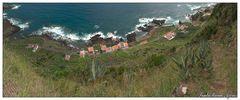 Hoch über Maia (Santa Maria, Azoren)