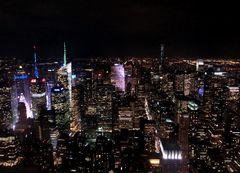 Hoch über New York
