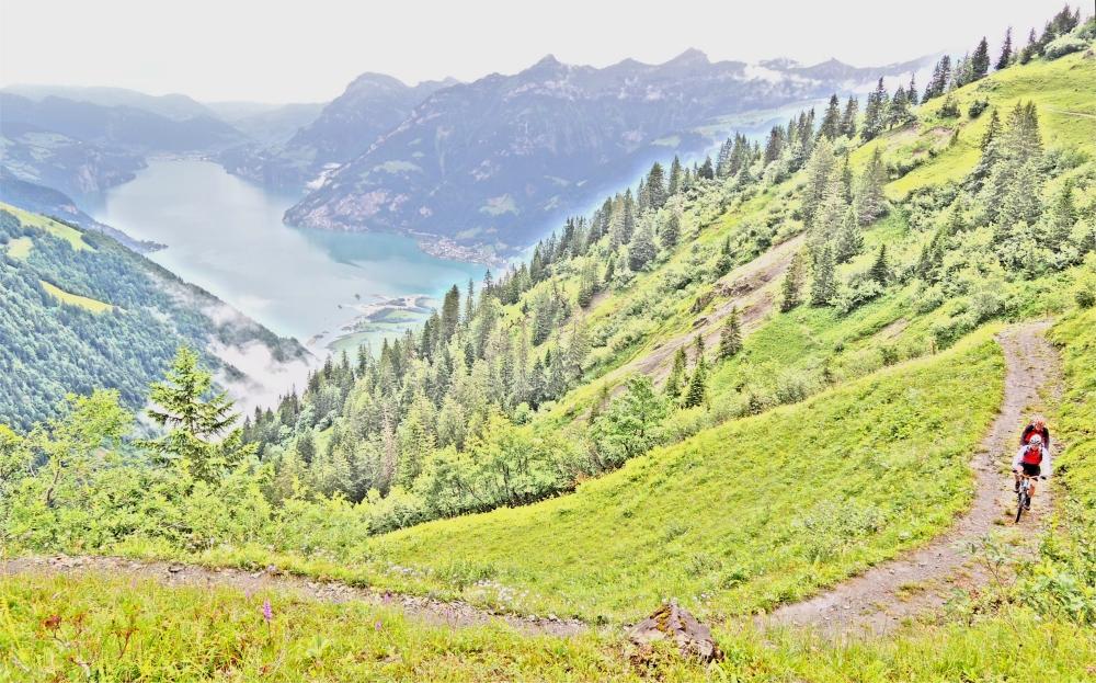 Hoch überm Vierwaldstätter See