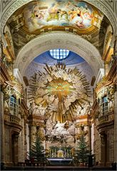 Hochaltar der Karlskirche