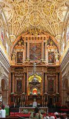 Hochaltar in der Hauptkapelle der Mezquita
