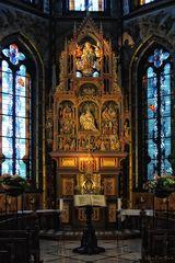 Hochaltar in der Marien Basilika zu Kevelaer
