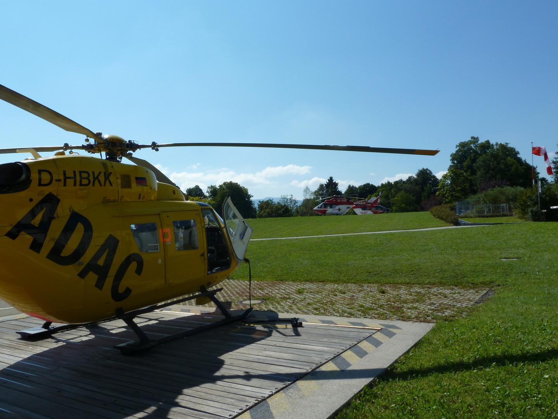 Hochbetrieb am Unfallkrankenhaus Murnau