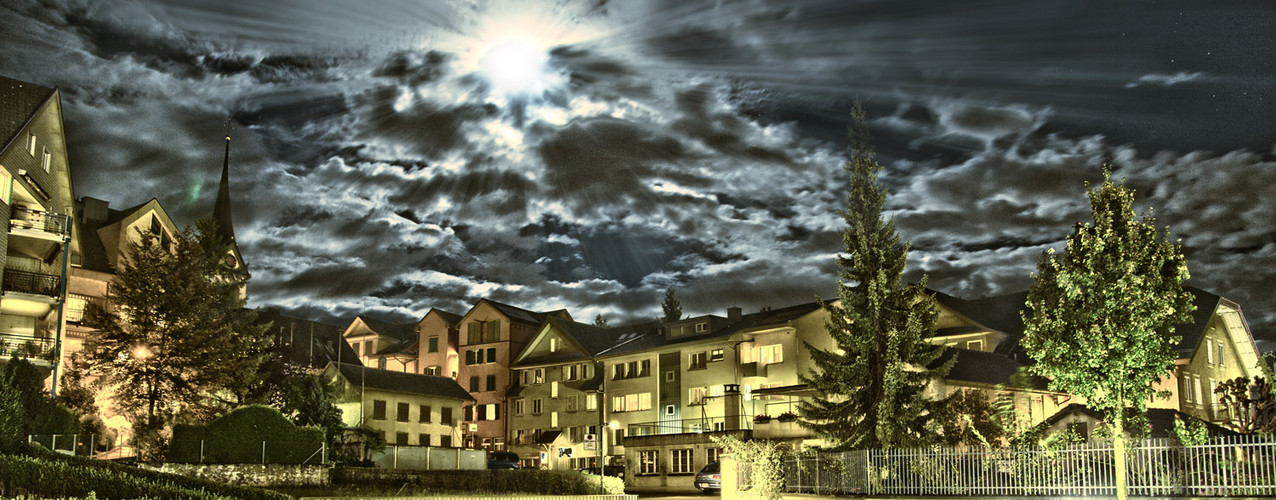 Hochdorf bei Nacht...