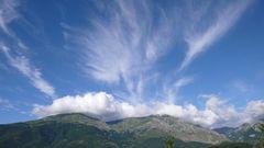 Hochdruck vertreibt die Wolken einen Tag später