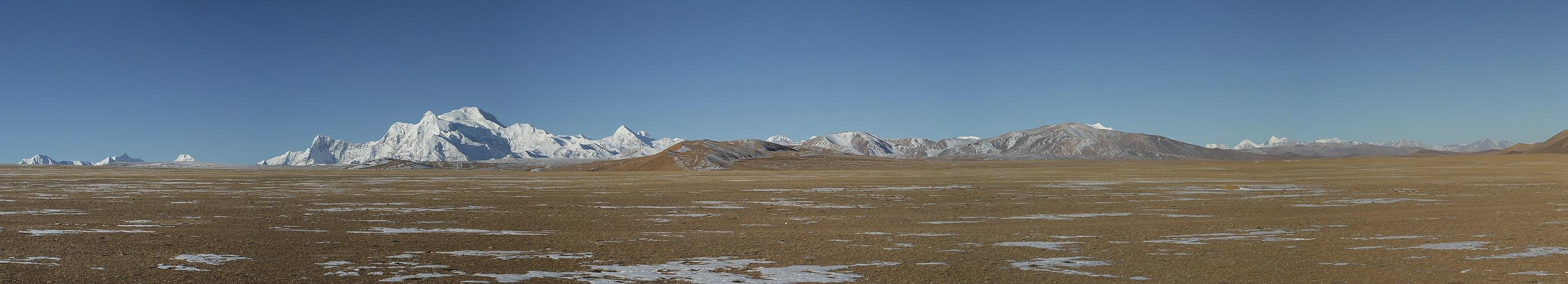 Hochebene bei der Überquerung Himalaya, Tibet