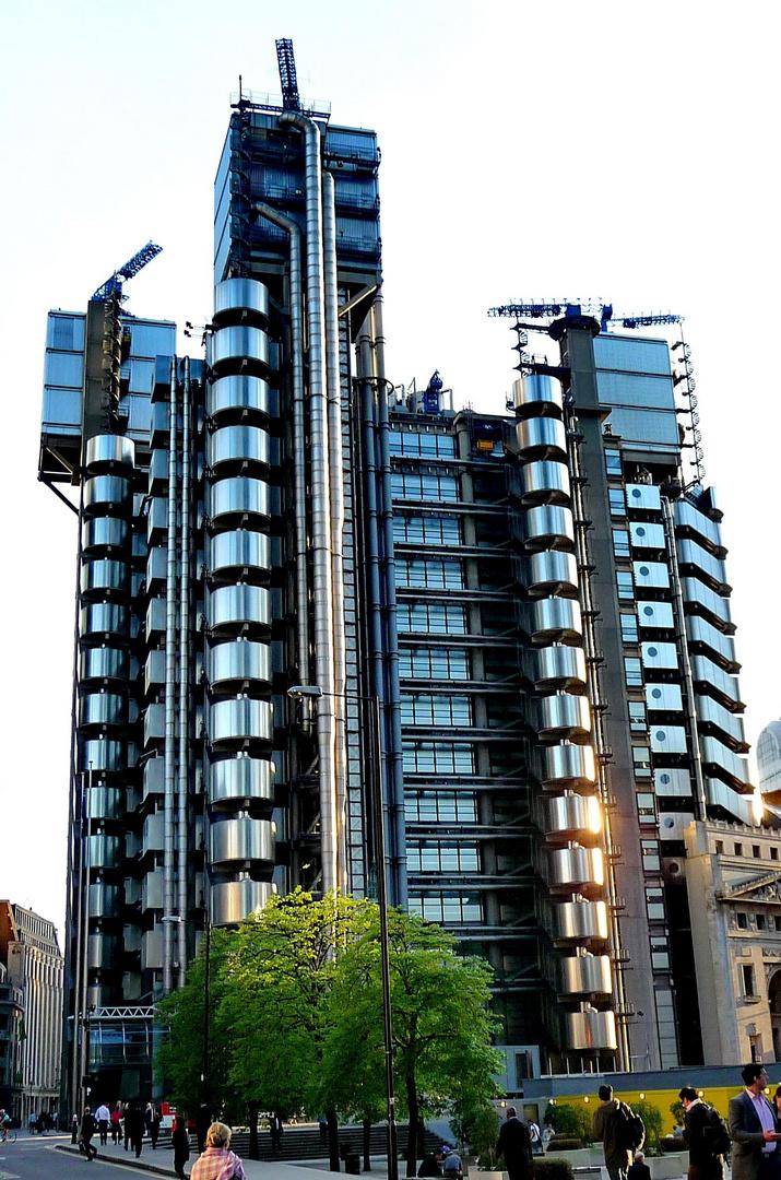 Hochformat- Lloyds of London